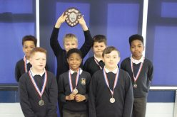Runners up for Year 4/5 football team
