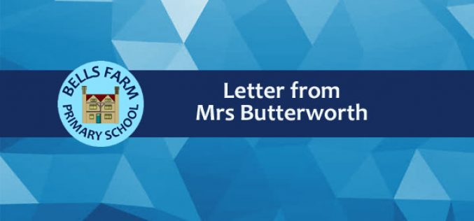 End of Year Letter from Mrs Butterworth