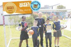 Bells Farm scoop gold sports award!