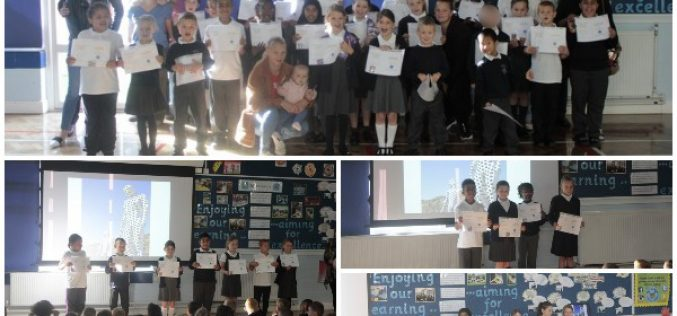 Photos: Attendance Awards assembly