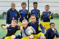 Boys team win silver in 5-a-side football