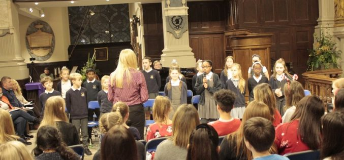 Video: Choir perform at Birmingham Cathedral