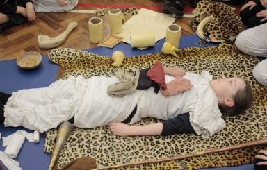 Year 3 Ancient Egypt 'History Man' visit
