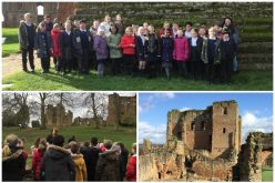 Photos of Year 5's Kenilworth Castle trip