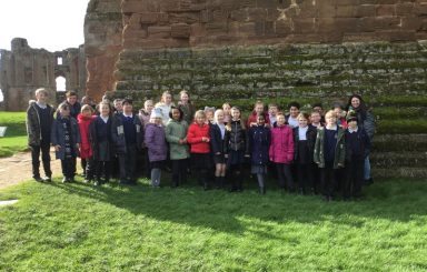 Year 5 visit Kenilworth Castle