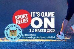 Sport Relief 2020 Fundraising