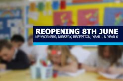 School Reopens on 8th June to Key Groups