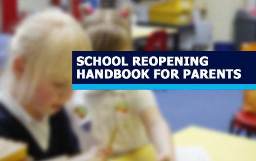 Parent Handbook – Plan To Partially Re-Open