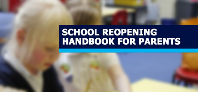 Parent Handbook – Plan To Partially Re-Open