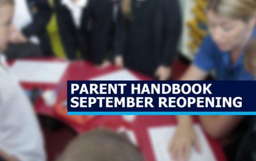 Parent Handbook – Full September Re-Opening