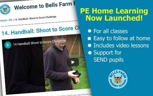 Blended Learning – PE lessons now available
