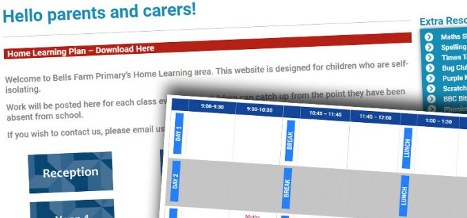 Home Learning Now Open!